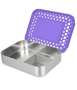 LunchBots Trio Bento Purple Dots