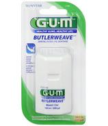 Gum ButlerWeave Dental Floss Waxed