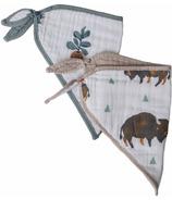 Little Unicorn Cotton Muslin Bandana Bison