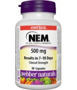 Webber Naturals NEM Natural Eggshell Membrane 500mg