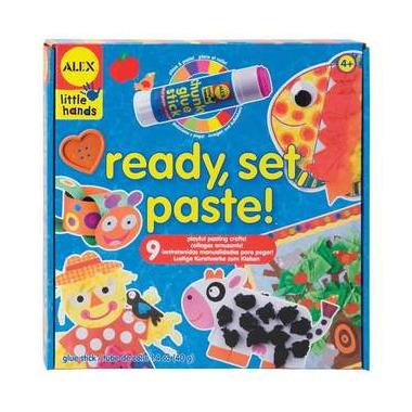 Alex Ready, Set, Paste!