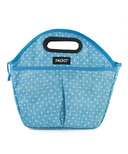 PackIt Freezable Traveler Lunch Bag Chambray Dot