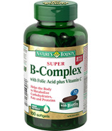 Nature's Bounty Super B-Complex With Folic Acid & Vitamin C