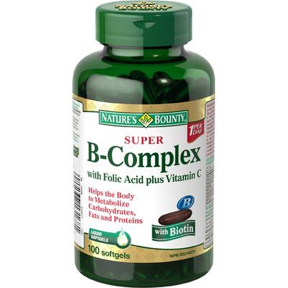 Jamieson Vitamin B Complex Food Basics