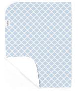 Kushies Deluxe Waterproof Change Pad Lattice Blue