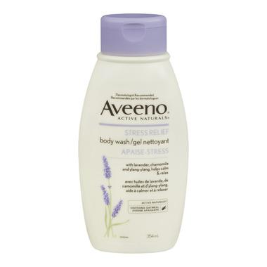 Aveeno Stress Relief Body Wash Gel