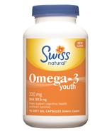 Swiss Natural Omega 3 Youth 300 mg
