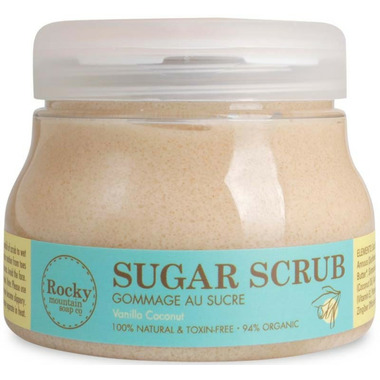 Rocky Mountain Soap Co. Vanilla Coconut Organic Sugar Scrub