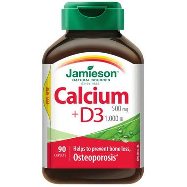 Jamieson Calcium + D3