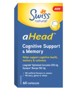 Swiss Natural aHead Cognitive Support & Memory