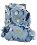 AppleCheeks Diaper Cover The Shark Side