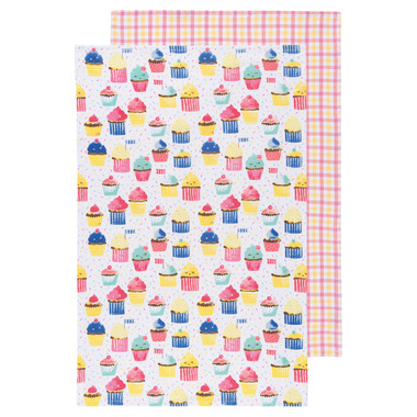 Now Design Cupcakes Dish Towels Set