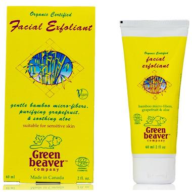 Green Beaver Grapefruit Bamboo Facial Scrub