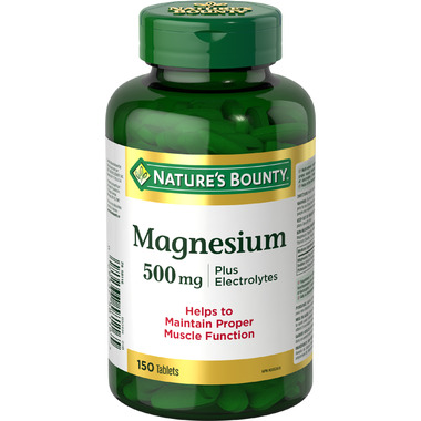 Nature\'s Bounty Magnesium Plus Electrolytes