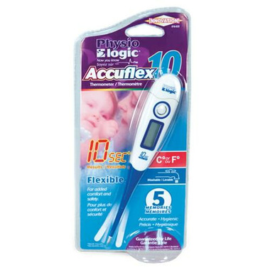 PhysioLogic Accuflex 10 Flexible Digital Thermometer