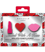 Danielle Sealed with a Kiss Blending Sponges 3 Pack