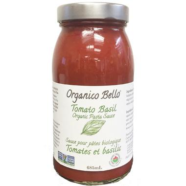 Organico Bello Tomato Basil Pasta Sauce