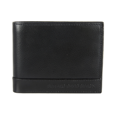 Buffalo Peter Leather Slimfold Wallet