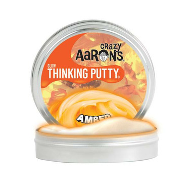 Crazy Aaron\'s Thinking Putty Amber
