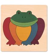 Hape Rainbow Frog Puzzle