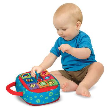 Melissa & Doug K\'s Kids Take-Along Shape Sorter Baby & Toddler Toy
