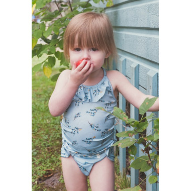 Bummis Swimmi One Size Swim Diaper Barberry Bird