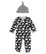 Skip Hop Star Struck Footie & Hat Set Cloud