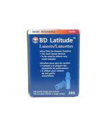 BD Latitude Lancets