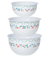 Now Design Bowl Set Mix & Serve Berry Patch