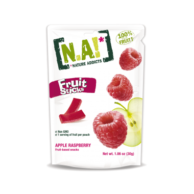 Nature Addicts Natural Fruit Stick Apple, Passion and Raspberry