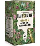 Heath & Heather Organic Green Tea & Moroccan Mint