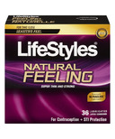 Lifestyles Natural Feeling Latex Condoms