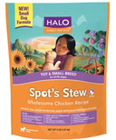 Halo Toy & Small Breed Dog Spot's Stew Wholesome Chicken Recipe