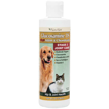 Naturvet Glucosamine DS Liquid with MSM & Chondroitin