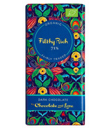 Chocolate & Love Filthy Rich Dark Chocolate Bar