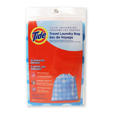 Tide Odour Absorbing Travel Laundry Bag