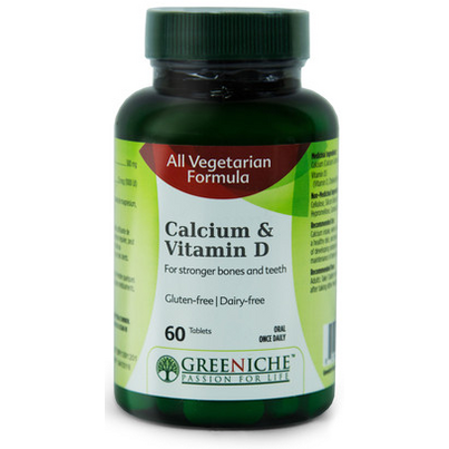 Buy Greeniche Calcium Amp Vitamin D 60 Tablets Online In