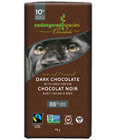 Endangered Species Dark Chocolate Bar with 88% Cocoa