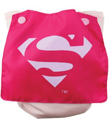 Bumkins DC Comics Supergirl Snap-In-One Cloth Diaper with Cape