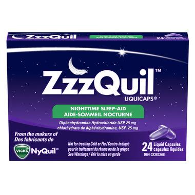 ZzzQuil Liquicaps Sleep-Aid