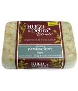 Hugo & Debra Naturals Oatmeal Mint Bar Soap