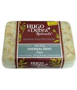 Hugo & Debra Naturals Oatmeal Mint Bar Soap