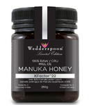 Wedderspoon 100% Raw Premium Manuka Honey 90 KFactor 22
