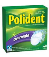 Polident Overnight Denture Cleanser