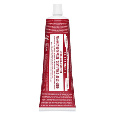 Dr. Bronner\'s Magic Soap Cinnamon All-One Toothpaste