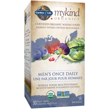 Garden of Life MyKind Organics Men\'s Once Daily Multivitamin