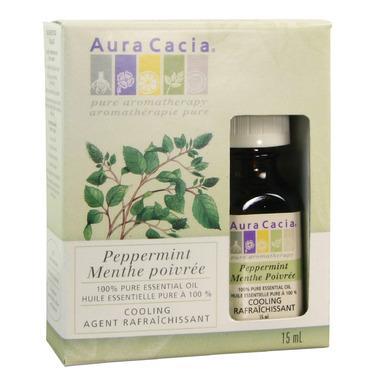 Aura Cacia Peppermint Essential Oil