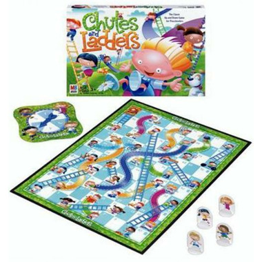 Chutes & Ladders Board Game