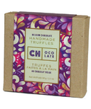 CH Ocolate Belgian Chocolate Homemade Purple Petal Truffles