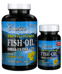Carlson Very Finest Fish Oil Bonus Pack
